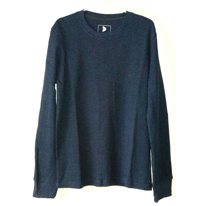 harga Kalibre sweater waffle biru tua navy blue biru dongker 9700484 Tokopedia.com