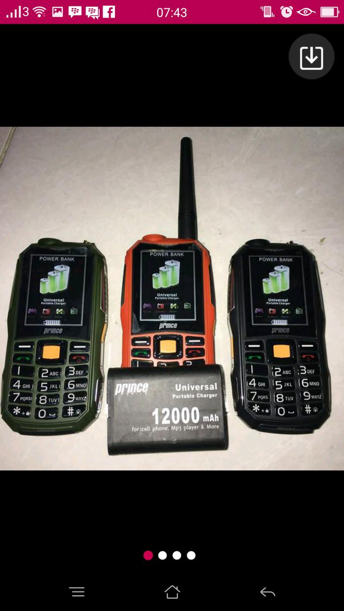 harga Hp baru prince pc10 bisa ht hp outdoor hp antena big baterai Tokopedia.com