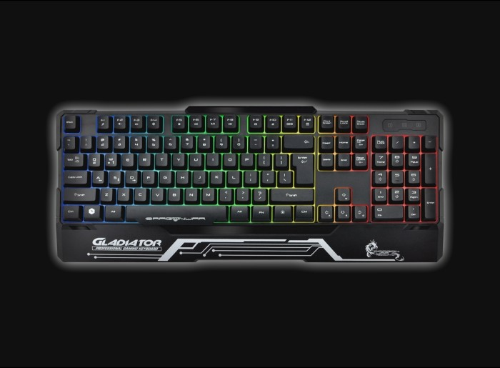 harga Elephant gladiator gaming mechanical keyboard Tokopedia.com