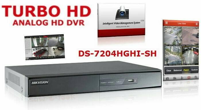 harga Dvr 4ch hikvision ds - 7204 hqhi Tokopedia.com