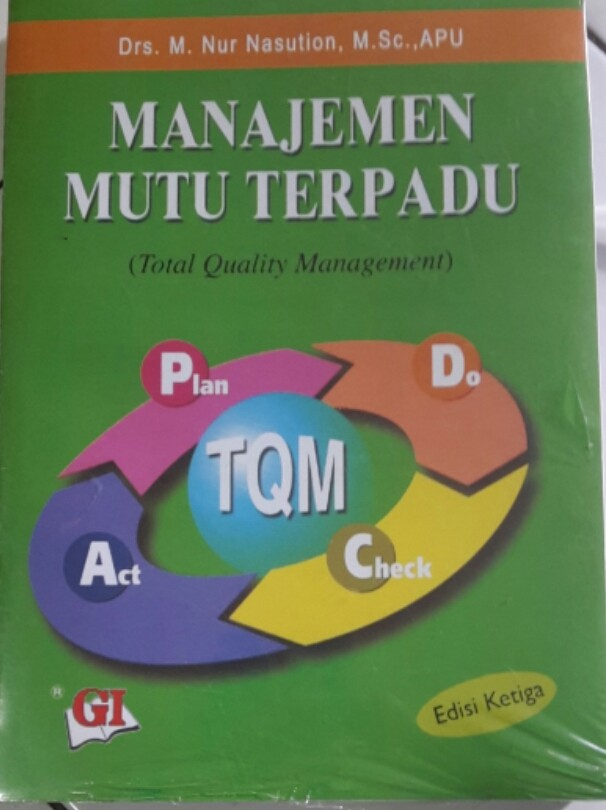 harga Manajemen mutu terpadu edisi 3 by.drs.m.nur.nasution Tokopedia.com