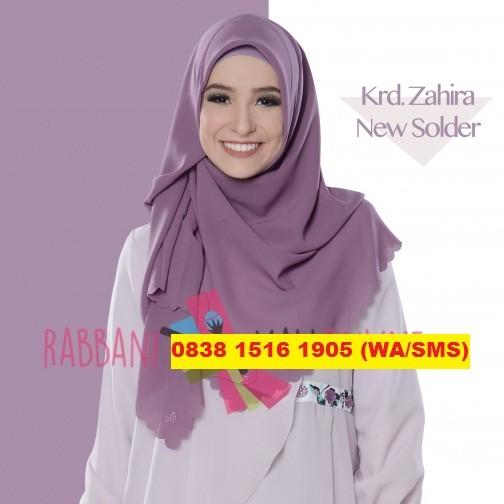 harga Rabbani kerudung/jilbab/hijab segi empat/segiempat polos zahira solder Tokopedia.com