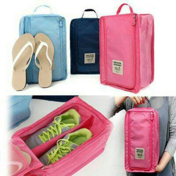 ... harga Tas sepatu sandal olahraga bola gym shoes pouch travel bag organizer Tokopedia.com