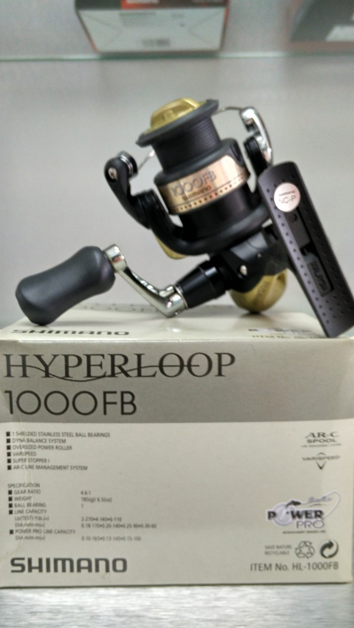 Reel SHIMANO HYPERLOOP 1000 FB