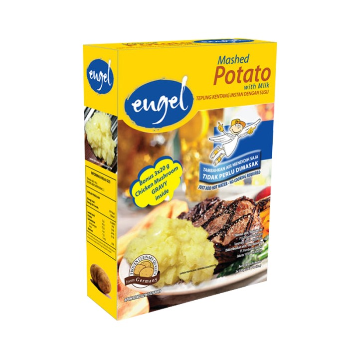 harga Engel mashed potato with milk box 3x100gr Tokopedia.com