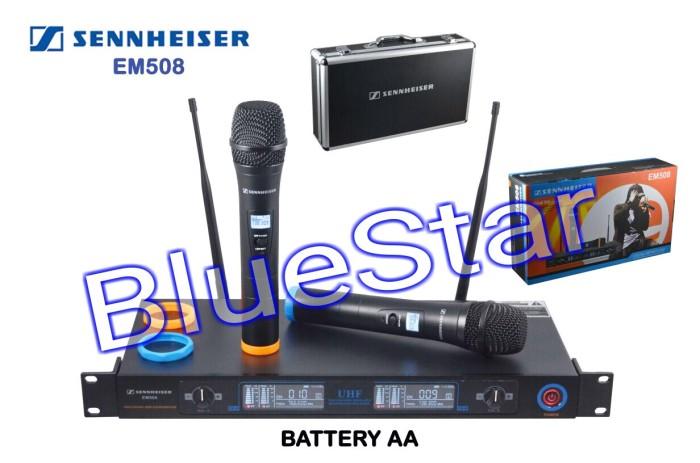 harga Mic wireless sennheiser em 508 + hardcase Tokopedia.com
