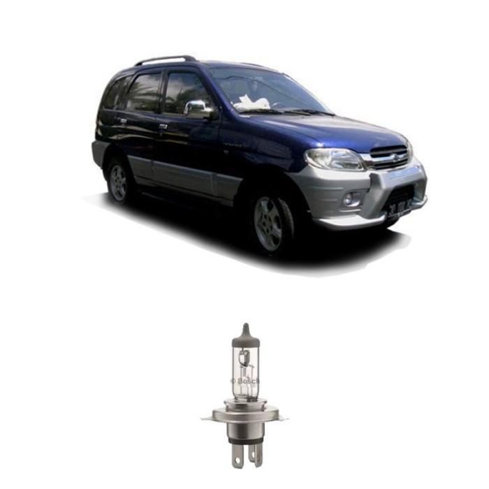 Jual Bosch Sepasang Lampu Daihatsu Taruna Low Beam All Weather H4 12v60/55w Harga Promo Terbaru