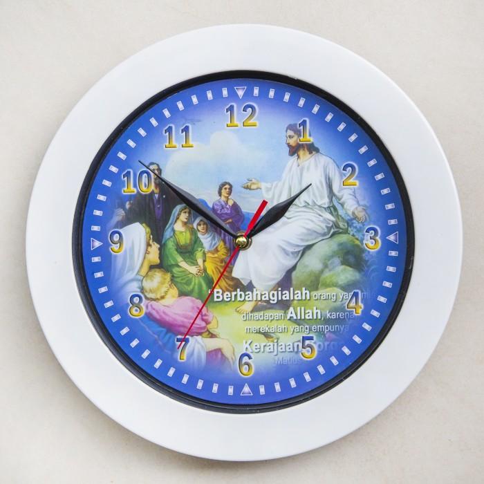 Jual Jam Dinding Yesus Mengajar   Ayat Alkitab - Jam Dinding Murah ... 889e6f8834