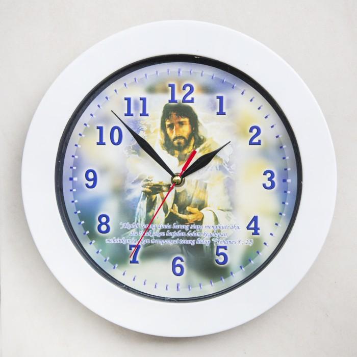 Jual Jam Dinding Yesus   Ayat Alkitab - Jam Dinding Murah Unik ... a4ae834024