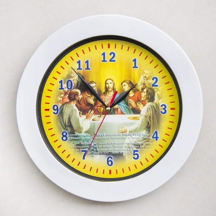 Jual Jam Dinding Perjamuan Terakhir Yesus - Jam Dinding Murah Unik ... 4dbe819a87