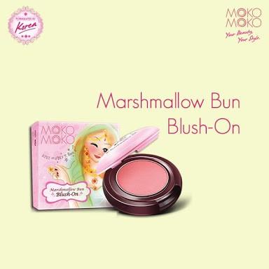 Moko Moko Marshmallow Bun Blush On .