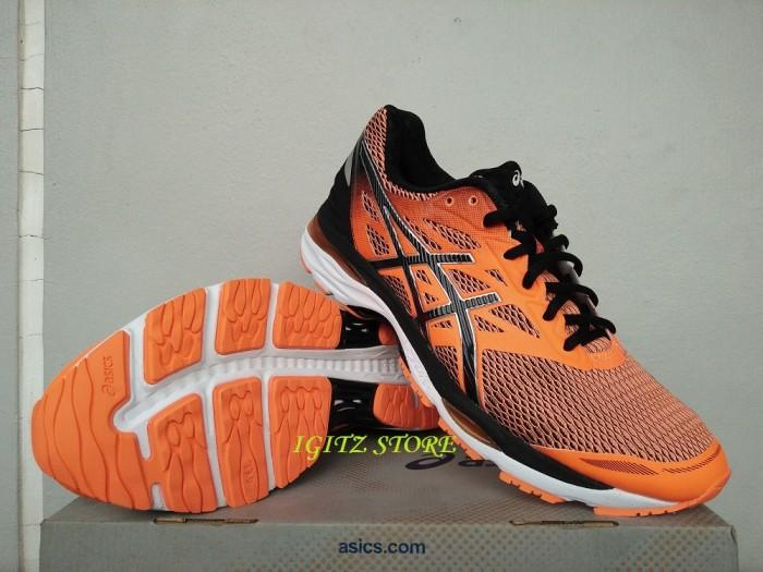 Jual  Original  Sepatu Running Volley ASICS GEL-CUMULUS 18 Orange ... df60a8fb20