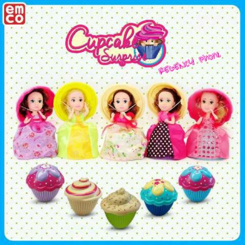 Jual Mainan Boneka Cewek EMCO Cupcake Surprise - toko evamat  971c08b6f8