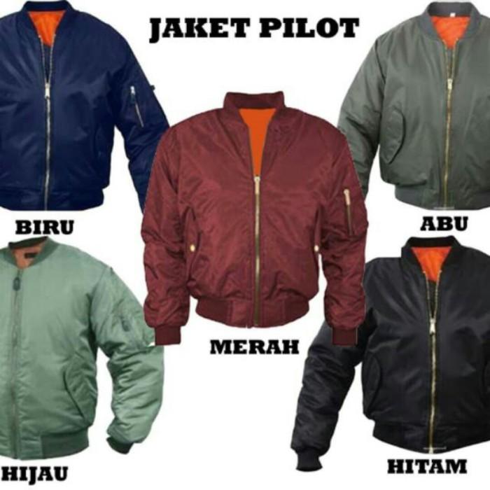 Jual jaket pilot  b044fde371