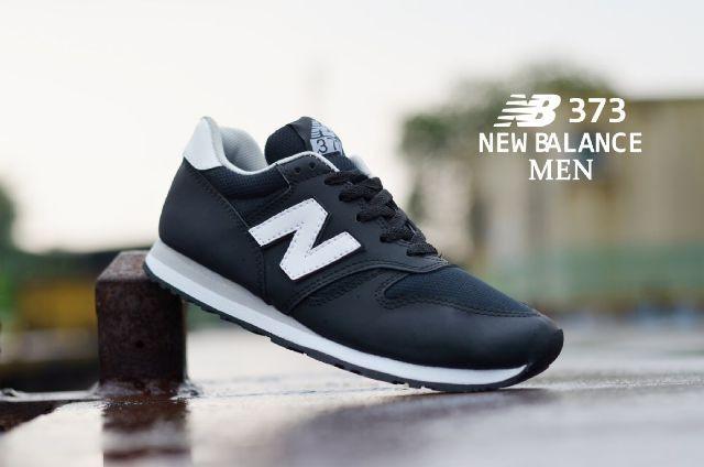 Jual Sneakers Murah ( New Balance 373 Black White ) - Kota Bandung - Sepatu King & Queen | Tokopedia