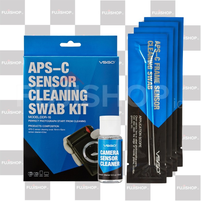 harga Vsgo Sensor Cleaner For Aps-c Sensor Tokopedia.com