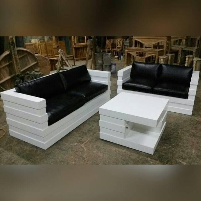 7300 Koleksi Gambar Kursi Sofa Kayu Minimalis Gratis