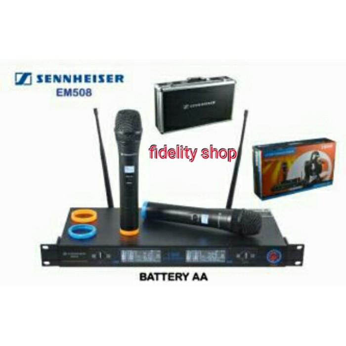 harga Mic wireless sennheiser em 508 (handhled ) Tokopedia.com