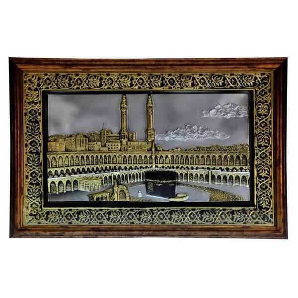 harga Bingkai kaligrafi arab qy2111 ka`bah 22.5x14.6 brown (04397) Tokopedia.com