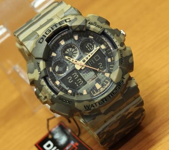 Jam Tangan Digitec DG-2072T Brown Army Ori Limited