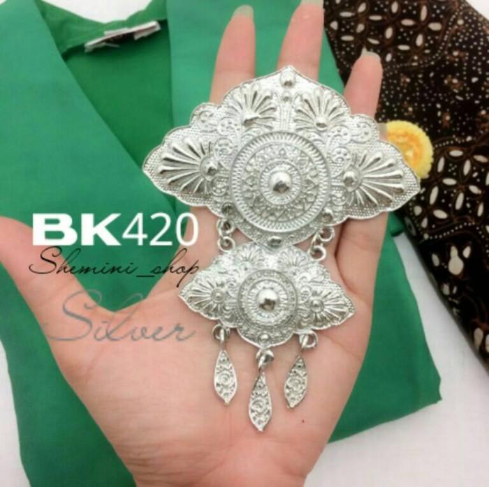 harga Bros Kebaya Kutu Baru Kode : Bk420 ( Silver ) Tokopedia.com