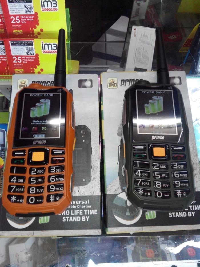harga Handphone / hp prince pc-10 [powerbank 12.000 mah / handy talkie / ht] Tokopedia.com