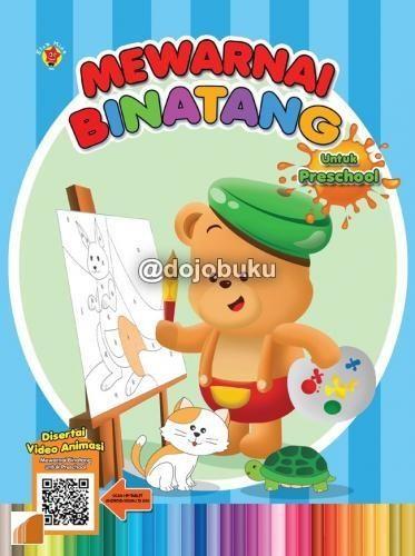 Jual Mewarnai Binatang Untuk Preschool Qr Cek Harga Di Pricearea Com