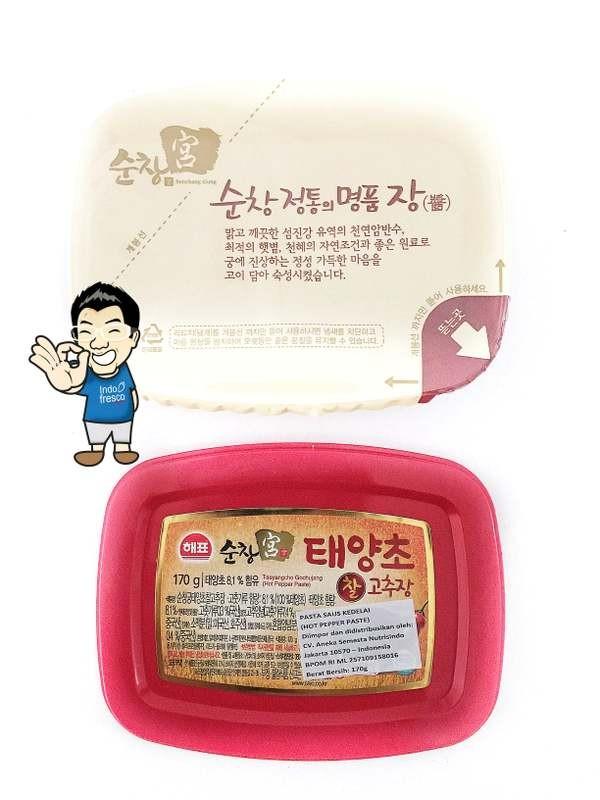 harga Sajo gochujang / sambal pasta korea/ hot pepper paste- 170gr Tokopedia.com