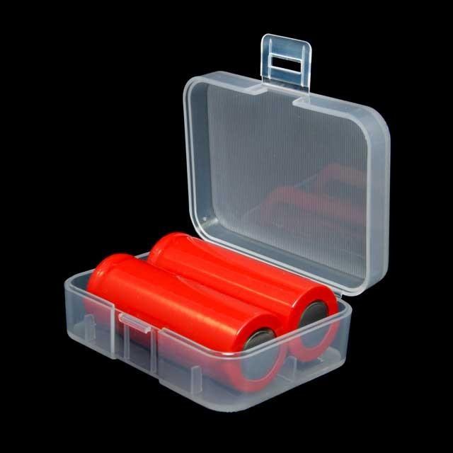Foto Produk Transparent Battery Case for 2x18350 - Transparent dari ChokiNotebook