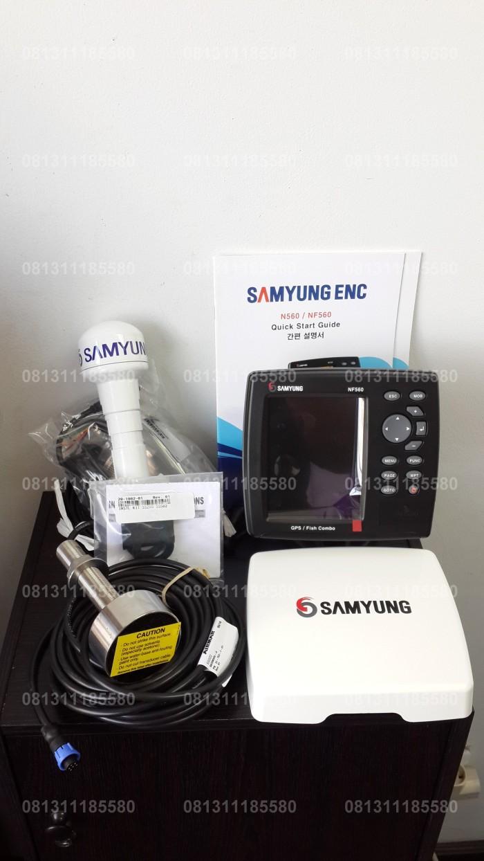 harga Samyung nf 560 / nf-560 / chartplotter / gps plotter+fish finder Tokopedia.com