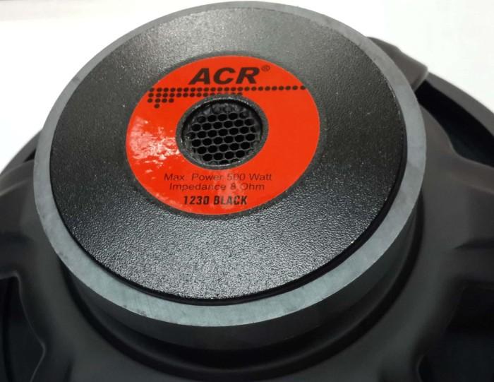 harga Speaker 12 inch full range acr 1230 black 500 watt ( original asli ) Tokopedia.com