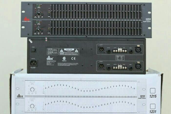 harga Equalizer / equaliser dbx 1231 / dbx-1231 Tokopedia.com