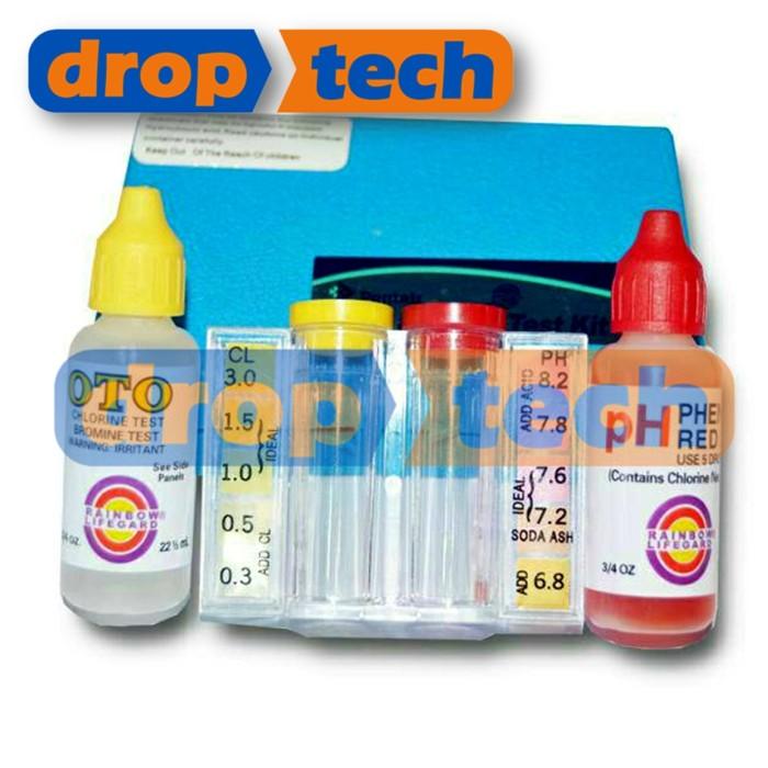 Foto Produk Test Kit Chlorine dan pH merk PENTAIR RAINBOW Murah dari Digiku O Shop