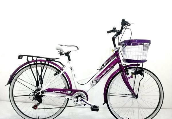 harga Sepeda city bike phoenix star 26  ungu Tokopedia.com