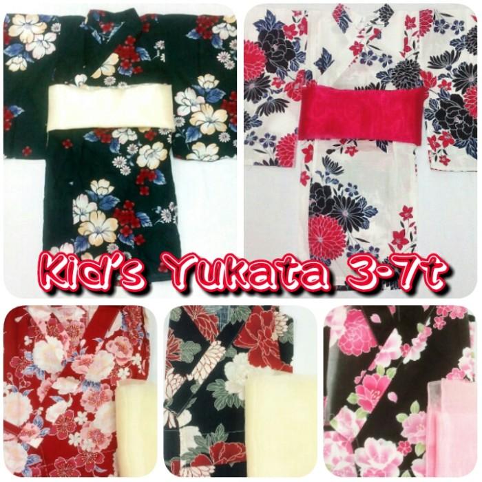 harga Kid's yukata japan summer kimono anak cewe obi Tokopedia.com