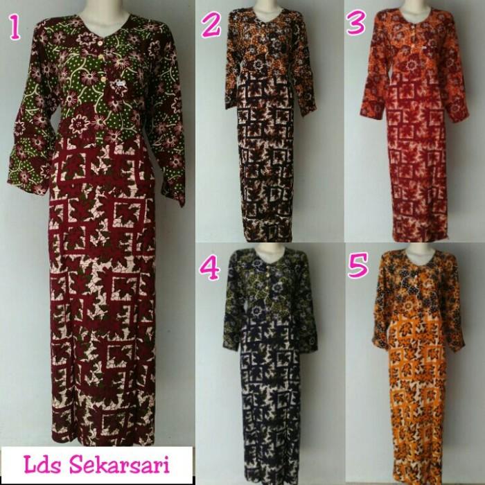 Jual daster lucu daster batik pekalongan longdres batik ... fc43455c54