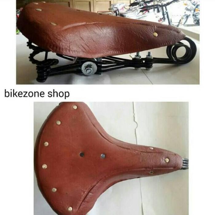 harga Sadel jok sepeda onthel kulit per Tokopedia.com