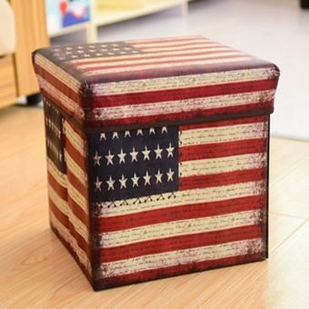 harga Storage box bendera amerika / kotak tempat penyimpanan baju buku koran Tokopedia.com