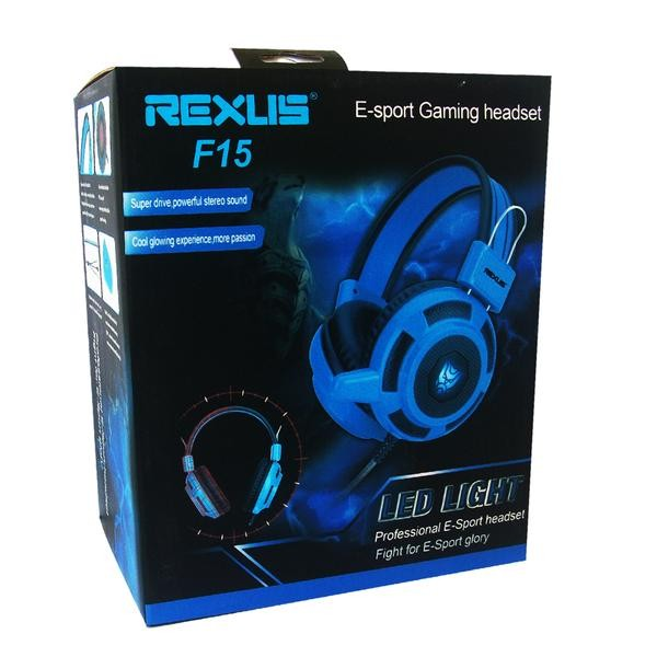 Raoop Headset RP 1525 untuk. Source · Headset Gaming Rexus F15 .