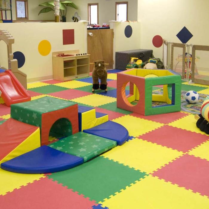 Karpet Evamat Polos 30x30 cm / Matras / Alas Bermain Anak / Tikar .