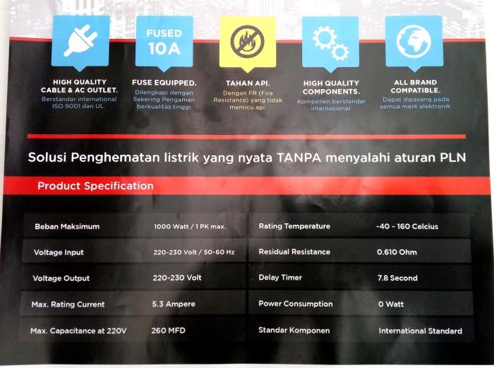 International Sorj Soft Starter 53a 1000w 1pk Penghemat Energi Awal Source · Slow Start Inverator 5