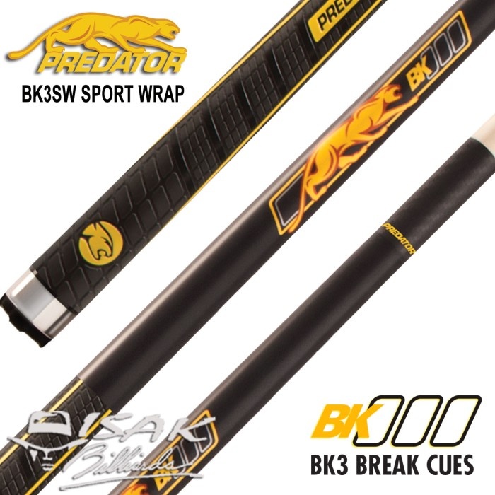 harga Predator bk3sw break cue - sport wrap - billiard stick biliar bilyar Tokopedia.com