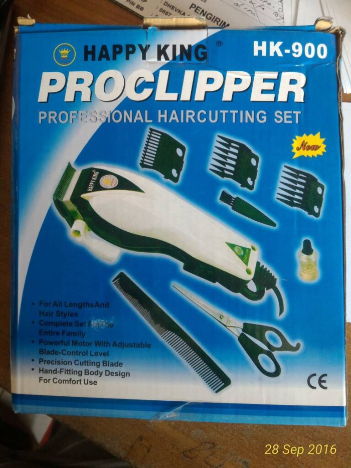 Jual proclipper happy king hk-900 alat cukur rambut - DHEVKA OLSHOP ... 5dce00fefa