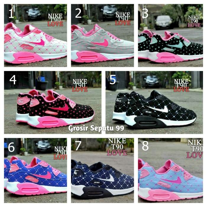 Sepatu Nike Airmax T90 Love Women Untuk Wanita dan Anak Perempuan c99904144d