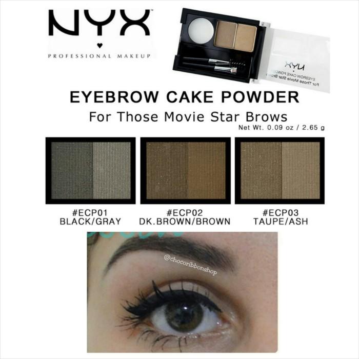 harga Nyx eyebrow cake powder 100% original Tokopedia.com