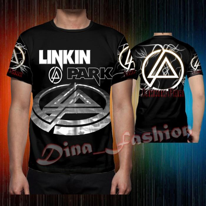 Jual T Shirt Logo Linkin Park Full Print Sublimation New Kab Bandung Dina Fashion Tokopedia