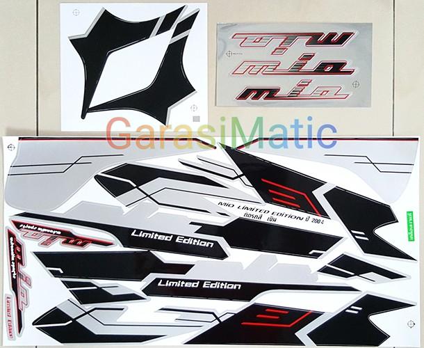 harga Striping Yamaha Mio Limited Edition 2004 (silver) - Thailand Tokopedia.com