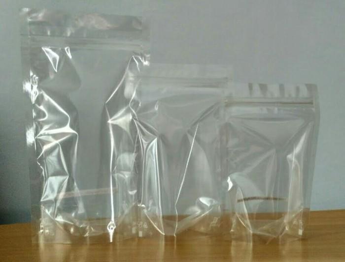 harga Standing pouch transparant 14 x 23cm 500 gram Tokopedia.com