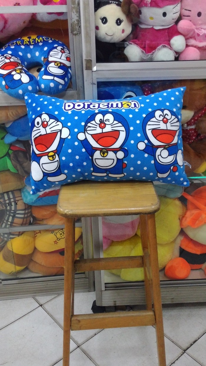 Jual Bantal Print Doraemon Lembut Adem Dan Lucu Jakarta Pusat Spenzamo Store