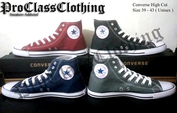 Jual Sepatu Converse All Star High Cut Slim + Include Box - Pro ... eef5fad374